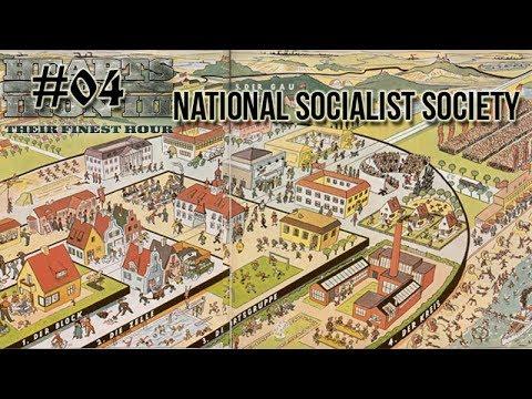 Hearts of Iron 3: Black ICE 9.1 - 04  (Germany) National Socialist society organization