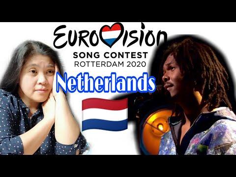 "EUROVISION 2020 REACTION NETHERLANDS 🇳🇱  Jeangu Macrooy  ""Grow''"