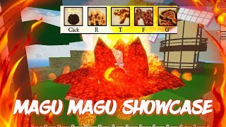 Magu Magu/Magma Devil Fruit Showcase | Roblox Ro-Piece