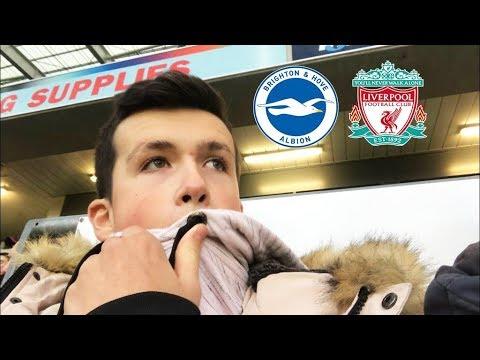 """Coutinho Is A Joke"" Brighton Vs Liverpool | Match Day Vlog"