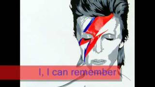 David Bowie - Heroes(FULL VERSION - SUBBED)