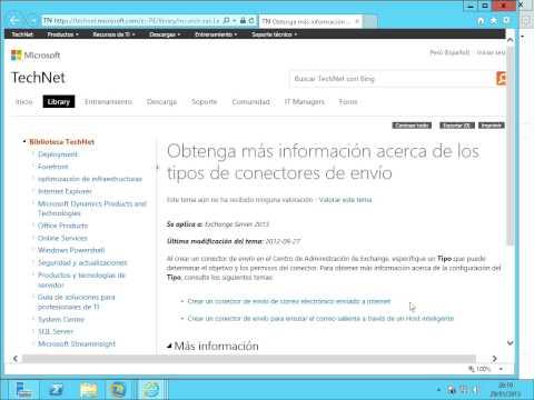 Exchange Server 2013 - Configuración Envio Correo Externo