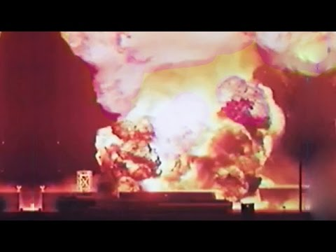 Nuclear Test Fails - Johnston Island Test in 1962