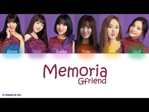 GFRIEND(여자친구) Memoria  Colour Coded Lyrics(KAN|ROM|ENG)