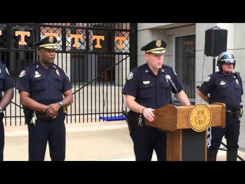Chief Rausch explains Labor Day weekend traffic flow and enforcement efforts