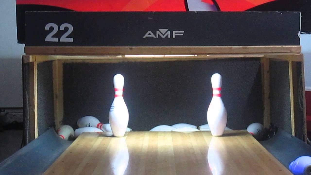 homemade bowling lane split conversions