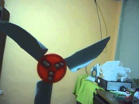 C mo hacer un molino de viento casero voz r pida youtube - Como hacer un toldo casero ...