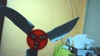 cómo hacer un molino de viento casero - voz rápida