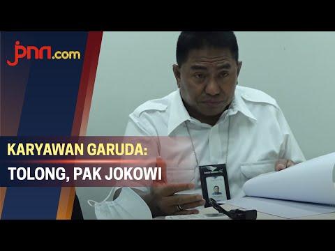 Karyawan Garuda Ngotot Ingin Bertemu Jokowi untuk Sampaikan Hal ini