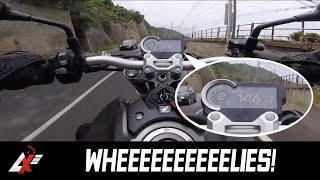 2018 Honda CB1000R TEST RIDE (RAW SOUND & WHEELIES)