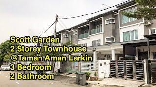 Gambar cover [For Sale] Scott Garden Townhouse@Aman Larkin. RM395,000