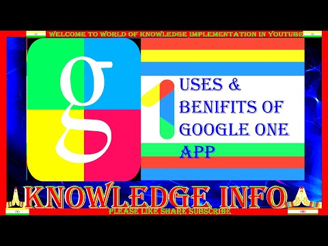 Google One LLC Official App Review in Hindi#Google 1 App Benefits in Hindi#Google App@KNOWLEDGE INFO