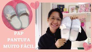 Aprenda a Costurar e a Fazer o Molde Desta Linda Pantufa – Passo a Passo