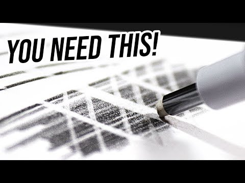 5 MUST HAVE DRAWING SUPPLIES For ANY GRAPHITE ARTIST