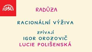 Radůza - Racionální výživa (oficiální lyric video), zpívají: Igor Orozovič a Lucie Polišenská