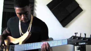"Chris Brown-""Fine China"" Bass cover"