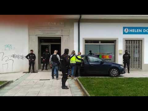 Operación antidroga en Vilagarcía