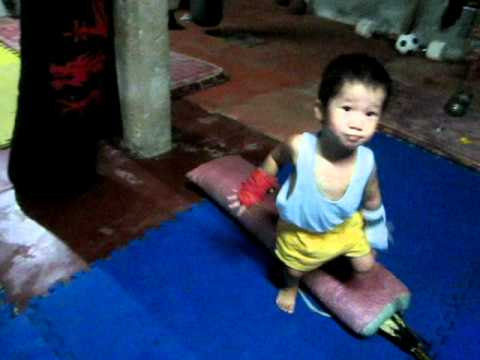 the youngest mma fighter part 2 bohol red dragon
