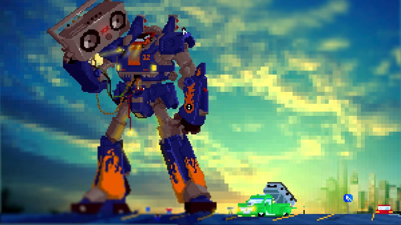 Megas Xlr Ost Berserker Youtube
