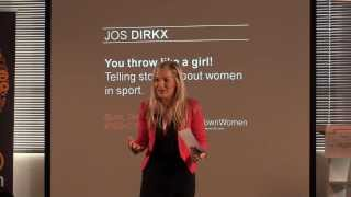 You throw like a girl! Telling stories about women in sport: Jos Dirkx at TEDxCapeTownWomen