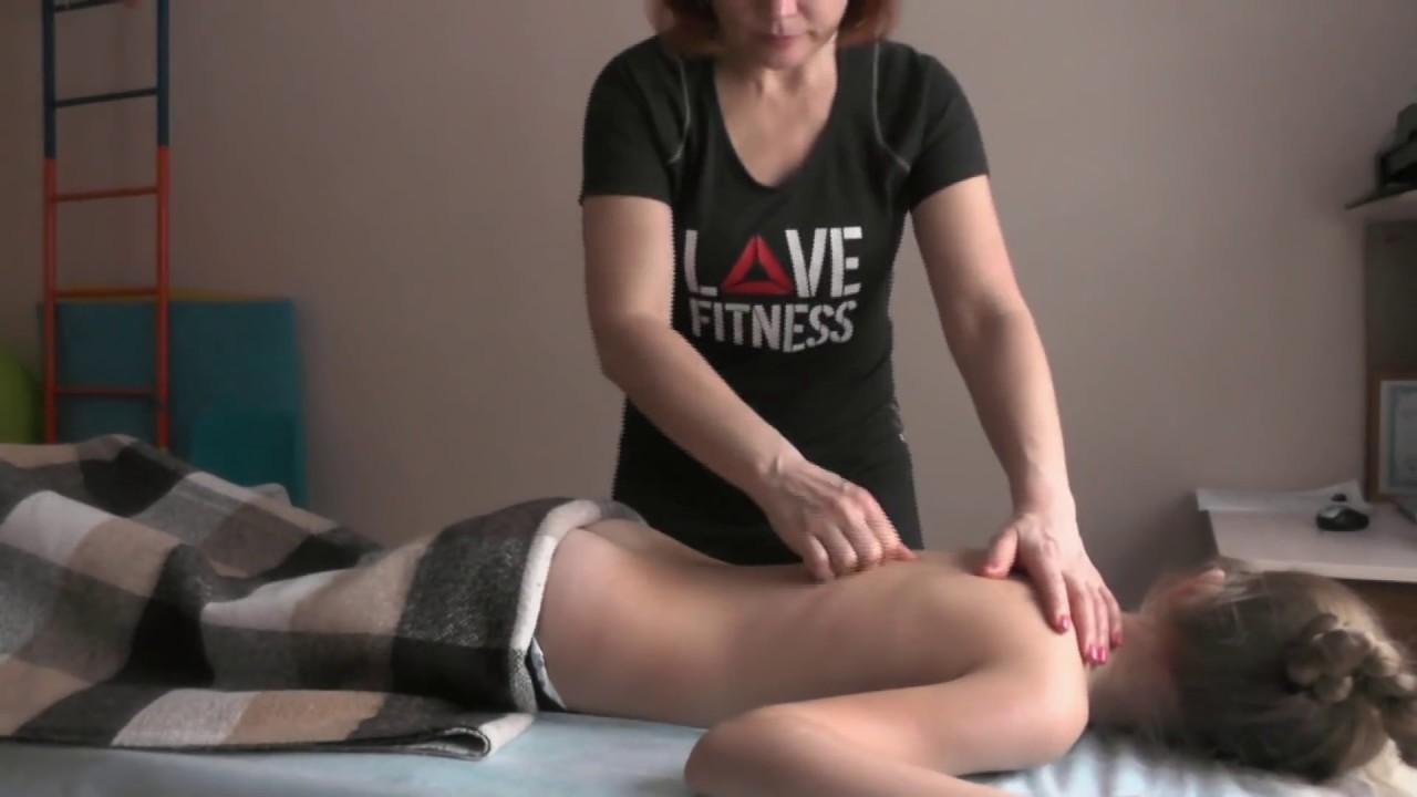Детский массаж  перед ЛФК