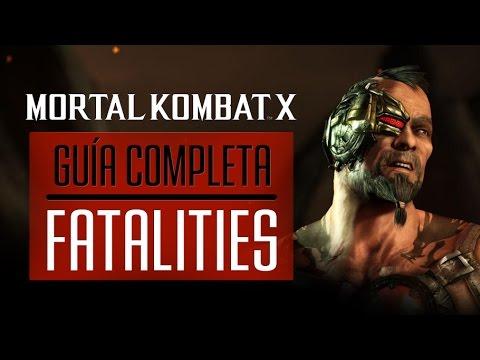 Mortal Kombat X: Guía de Fatalities y Consejos - 3DJuegos