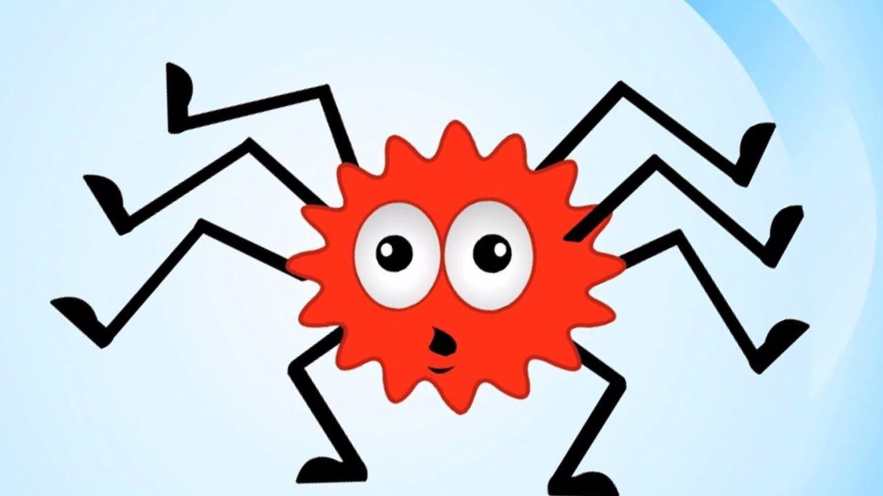 Incy Wincy Паук | Рифма для пауков для детей | Детская ...