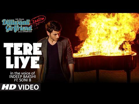 Tere Liye Video Song   Indeep Bakshi   Dilliwaali Zaalim Girlfriend   Divyendu Sharma, Prachi Mishra