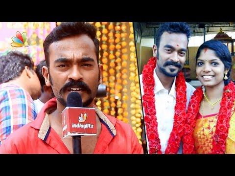 അപ്പാനി രവിക്ക് പ്രണയ സാഫല്യം |  Angamaly Diaries Appani Ravi Sarath Kumar marries Reshma | News