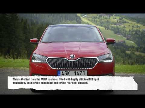 The Skoda Fabia - A brushes-up design and news technology