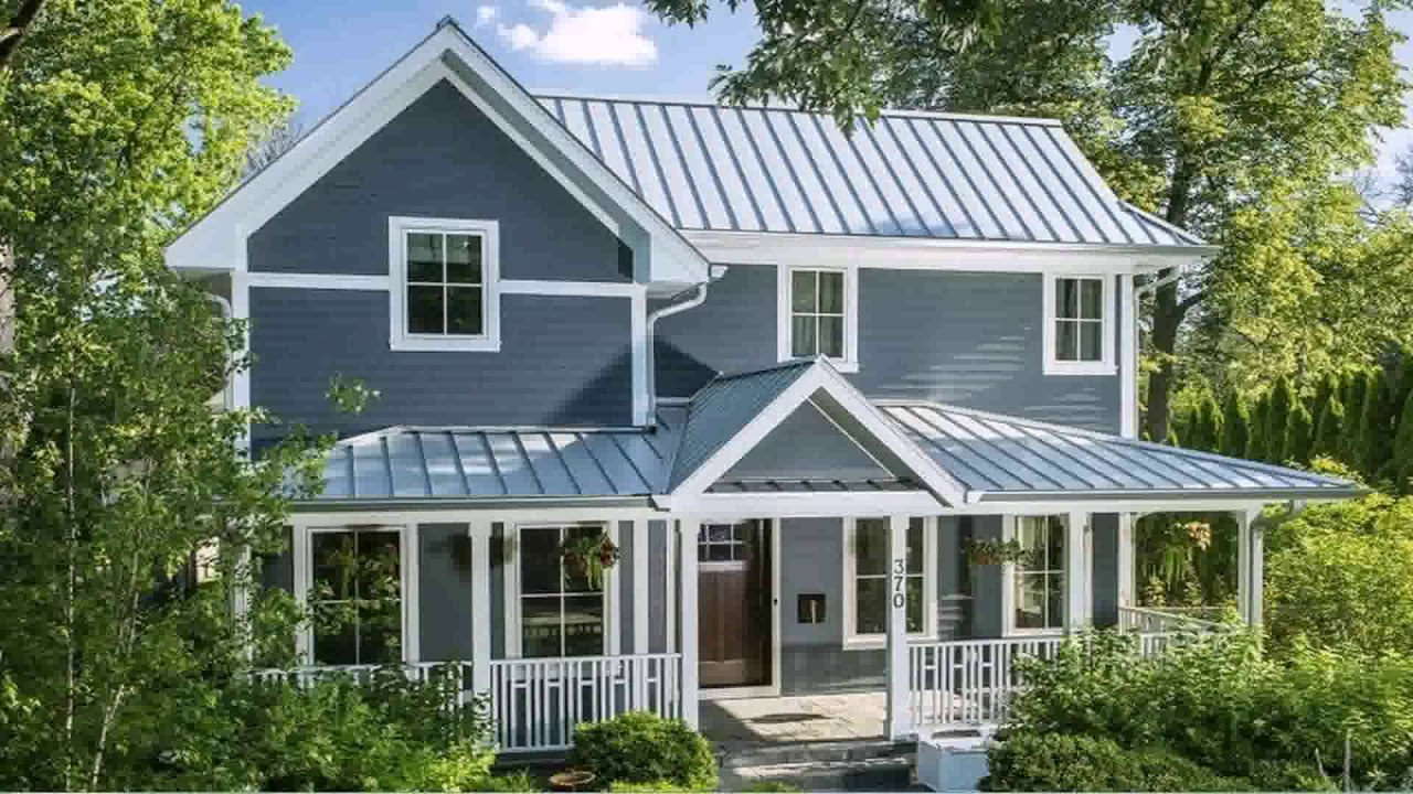 Ranch House Plans With Metal Roof - YouTube