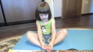 Йога Азбука для детей. Буква