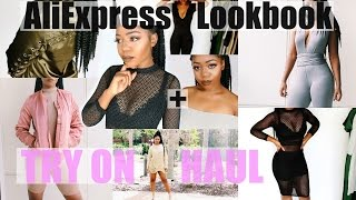 ALIEXPRESS TRY ON HAUL | Kylie x Kim x Yeezy Season Inspired Fall Lookbook | Baddie on a Budget