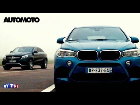 Defi: BMW X6 M vs Mercedes GLE Coupé 63 AMG. Quelle est la plus rapide ?