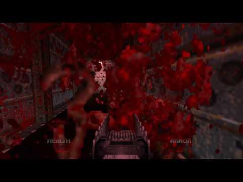 Brutal Doom 64 - Intro Scene + MAP01: Staging Area
