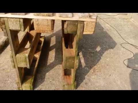[tuto] fabriquer tout seul un établi de travail en bois avec des palettes ? - 0 - [Tuto] fabriquer tout seul un établi de travail en bois avec des palettes ?