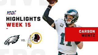 Carson Wentz Leads Eagles to Last Second Victory! | NFL 2019 Highlights