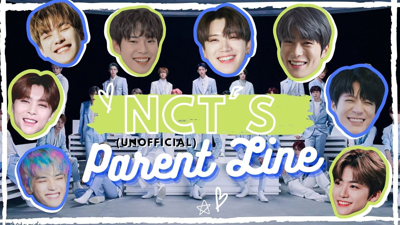NCT's (unofficial) Parent Line [updated]