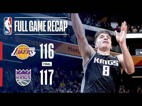 Los Angeles Lakers vs Sacramento Kings Full Game Highlights | 12/27/2018 NBA Season