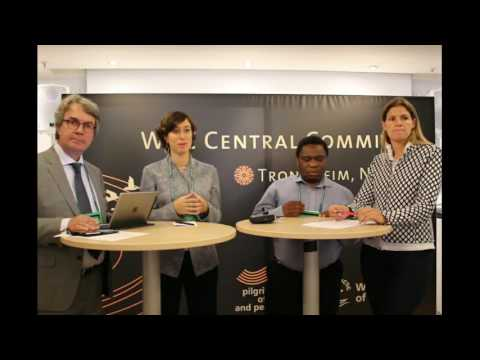 World Council of Churches press briefing on child rights