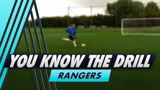 You Know The Drill: One-Two with the Crossbar with Rangers
