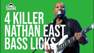 4 Killer Nathan East Bass Licks