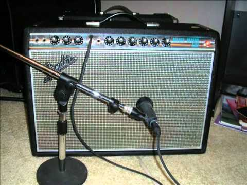 1968 Deluxe Reverb Clips One Clean With An OCD