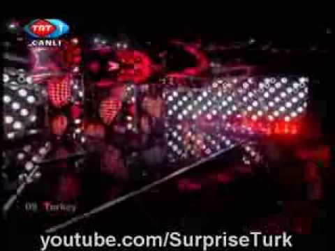Eurovision 2009 Semi Final Turkey Hadise Düm Tek Tek Live HD