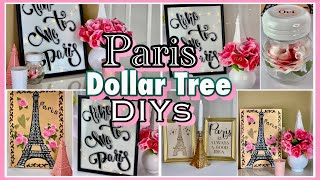 Paris Decor Ideas | Dollar Tree DIYs