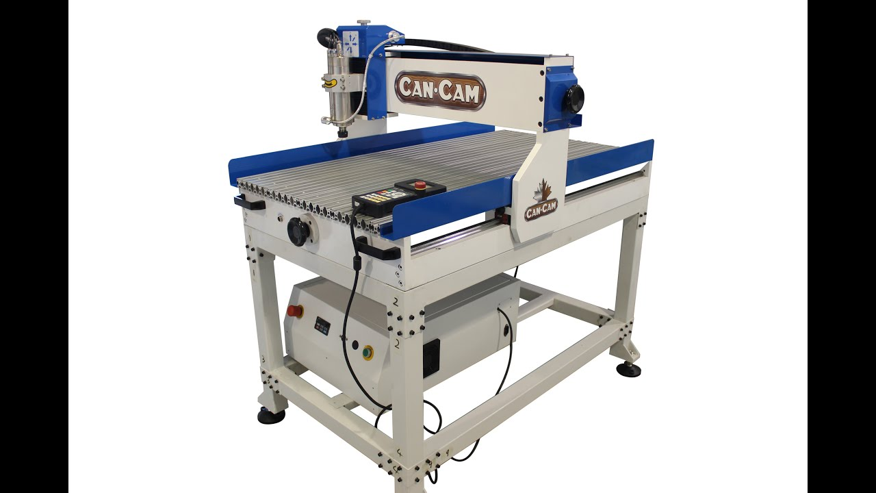 D 23m Desktop Cnc Router Youtube