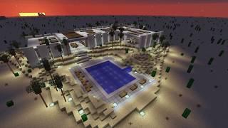 Minecraft: Modern concrete house #5