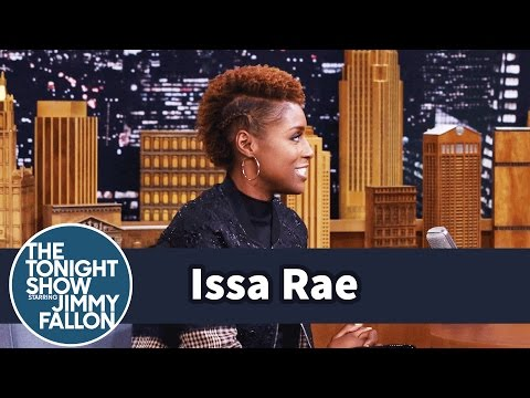 Issa Rae Got Awkward Meeting Jimmy Backstage