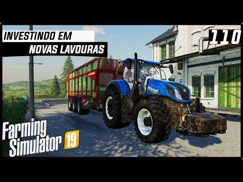 FAZENDO NOVOS INVESTIMENTOS EM LAVOURAS! | FARMING SIMULATOR 19 #110 [PT-BR] thumbnail