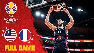 France with a Quarter-Final upset over Team USA! - Full Game - FIBA Basketball World Cup 2019